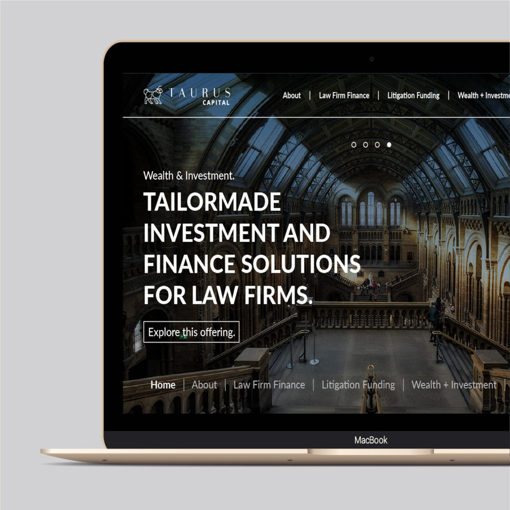 Taurus Website Design
